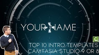 Top 10 Intro templates For Camtasia studio 9 or 8