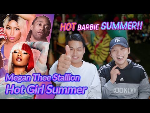 K-pop Artist Reaction] Megan Thee Stallion - Hot Girl Summer ft. Nicki Minaj & Ty Dolla $ign
