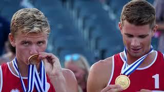 Mol and Sørum (NOR) taking GOLD | #EuroBeachVolley 2018