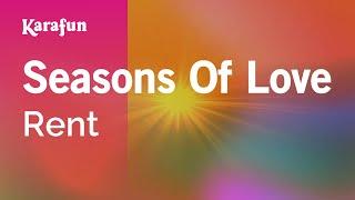 Karaoke Seasons Of Love - Rent *