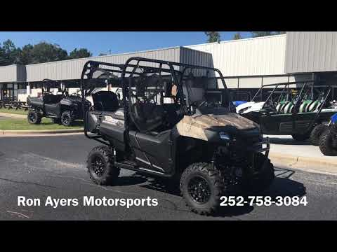 2019 Honda Pioneer 700-4 Deluxe in Greenville, North Carolina - Video 1
