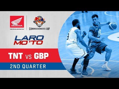 TNT vs. GlobalPort – Q2   PBA Commissioner's Cup 2018