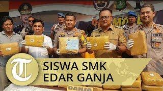 Siswa SMK di Depok Ditangkap Polisi Ketahuan Mengedarkan Ganja