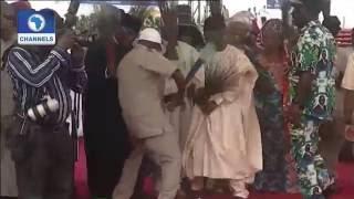 Oshiomhole Slugs It Out With El-Rufai In A Dance