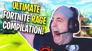 ULTIMATE Fortnite RAGE Compilation #8