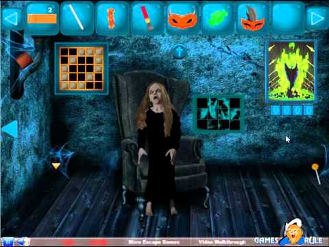 games2rule horror halloween escape walkthrough