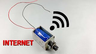 Amazing Technology , Free Internet at home , New idea 2021