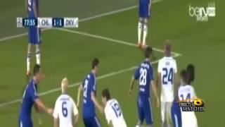 أهداف مباراة تشيلسي و دينامو كييف 2-1 الاهداف كاملة دوري ابطال اوروبا 2016 .