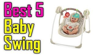Best Baby Swing Reviews In 2020 || Top 5 Baby Swing