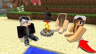ÇIPLAK KIZLARLA ADADA MAHSUR KALDIM! 😱 - Minecraft