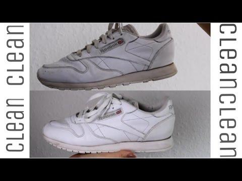 Weiße Sneaker wieder wie NEU 💁🏽⚪️