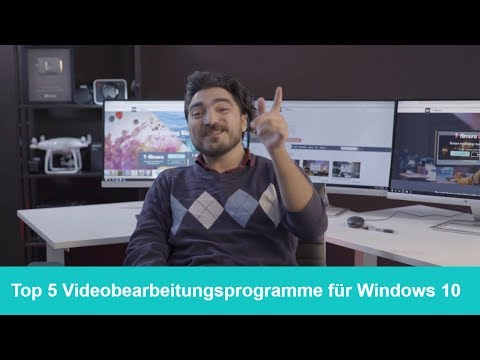 Beste Videobearbeitungssoftware für Windows 10: Top 5