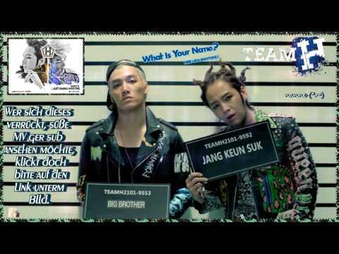 Team H (Jang Geun Suk, Big Brother) - What Is Your Name? k-pop [german sub]