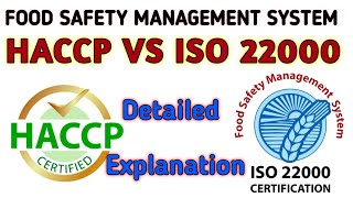 HACCP & ISO 22000: Food Safety Management System
