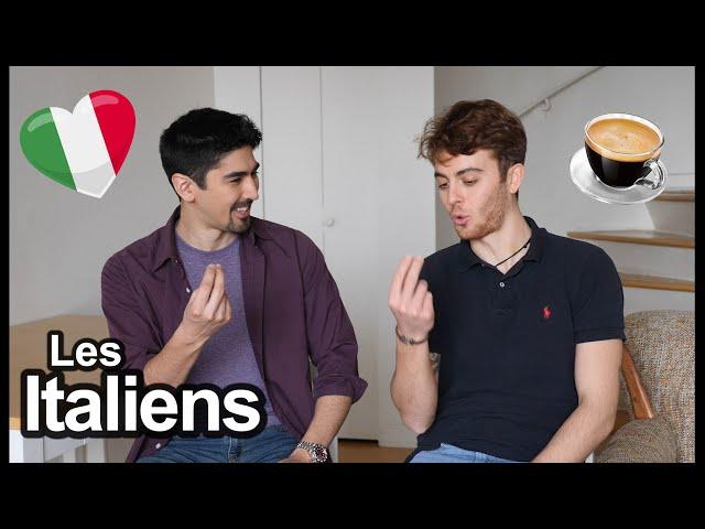 Videouttalande av iTalie Franska