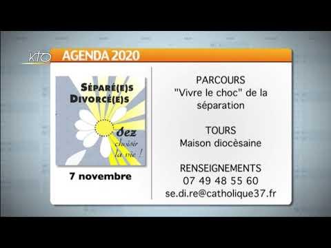 Agenda du 23 octobre 2020
