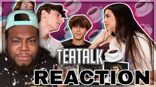 ‪Addison Rae Comes On #TeaTalk Jaden Hossler & Mads Lewis Dating Rumours?! | REACTION‬
