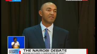 Peter Kenneth responds to Miguna Miguna's allegations that he bankrupted Kenya Re