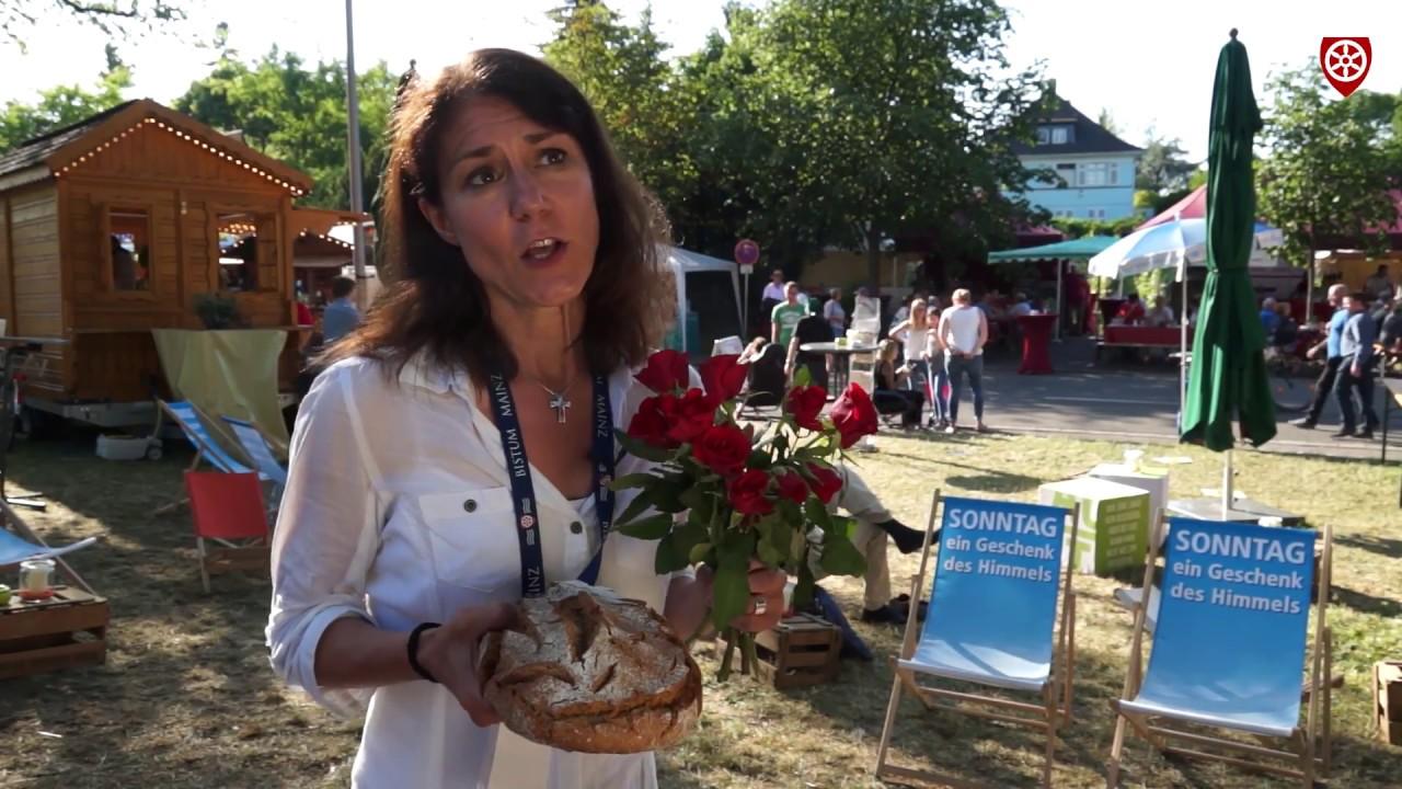 Brot des Lebens - Fronleichnam beim Hessentag in Rüsselsheim