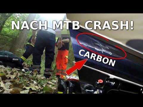 Bei MTB Unfall Carbon Rahmen und Helm gebrochen!   Teil 2   Simon Cycle