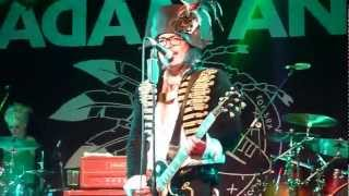 Adam Ant - Desperate But Not Serious - Roadmender, Northampton - 20th July 2012