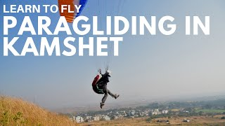 Shweta Learning to fly Paragliding with Templepilots Paragliding at Kamshet!!