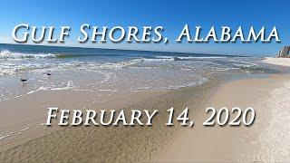 Gulf Shores Public Beach Access Gulf Shores, Alabama February 14, 2020