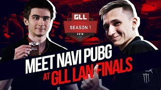 Meet NAVI PUBG at GLL S1 Finals