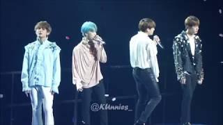 BTS (방탄소년단) - The Truth Untold - Love Yourself World Tour 20181019 Paris