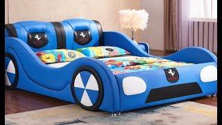 Kids Furniture Manufacturer In China Kids Beds Wholesale Market Cartoon Race Car Beds Bunk Beds