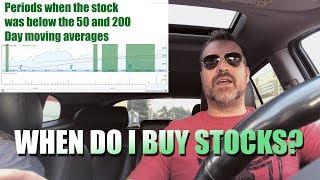 when do I buy stocks?? Google finance tells me when to buy!!