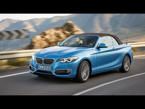 BMW 230i Convertible - Driving, Interior, Exterior (revised 2 Series Convertible)