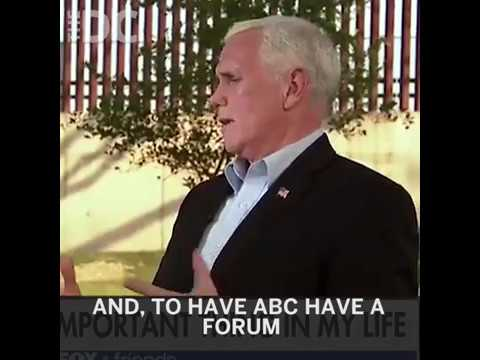 Mike Pence Defends His Christianity, Rebukes 'The View'