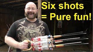 'The Coke Bottle Gatling': Craziest contraption ever
