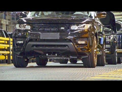 Range Rover 2018 Üretim Bandı