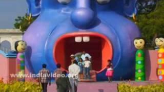 Entrance to entertainment area in Ramoji Film City