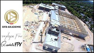 DFB & DFB-Akademie Frankfurt ( FFM ) // Construction Site // FPV Freestyle Drone // DrNope FPV