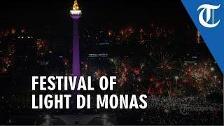 VIDEO: Festival Of Light Monas Masyarakat Tak Perlu Takut Injak Rumput