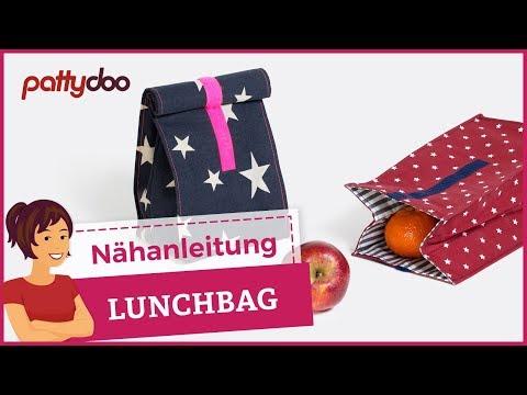 Lunchbag / Schwimmtasche einfach selber nähen
