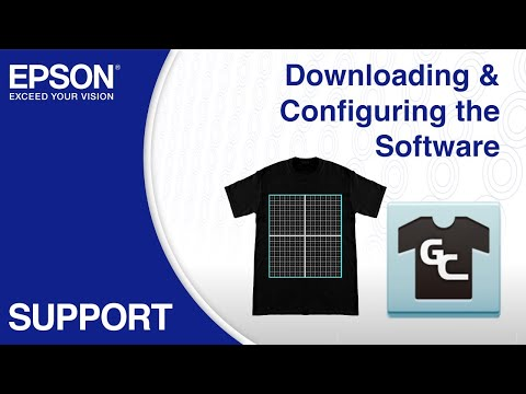 Epson Garment Creator | Downloading & Configuring the Software