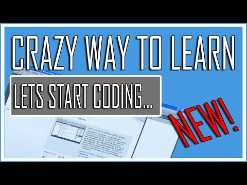 Visual Basic Beginner Lesson 11 – Lets Start Coding (Crazy Tutorial)