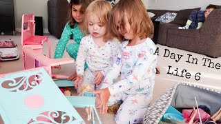 A DAY IN THE LIFE 6: FOUR KIDS INCLUDING TWIN TODDLERS