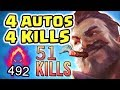 THE MOST BROKEN VIDEO I 39 VE EVER DONE PENTAKILL RAGE NEW 100 CRIT VICTORIOUS GRAVES Nightblue3
