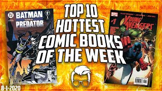 The Top 10 Hottest Trending Comics In The Market This Week // Top 10 Selling Comic Books List