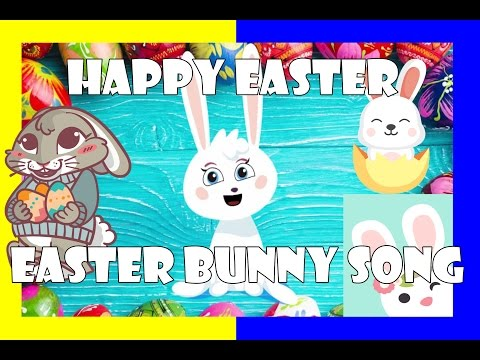 Easter Bunny Song -  Sing along with us!