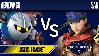 TBH5 Smash 4 - Abadango (MK) vs San (Ike) - Losers Bracket