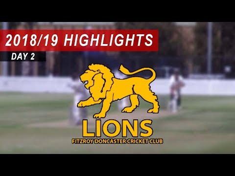 2018/19 Round 14 vs Fitzroy Doncaster 1st XI: Day 2 Highlights