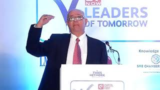 LMI at Leaders of Tomorrow event by ET Now at Chandigarh - talk by Mr. Ashok Thussu