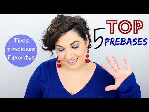 TOP 5 PREBASES de MAQUILLAJE - LOW COST y ALTA GAMA ♥️ ⎥Monica Vizuete