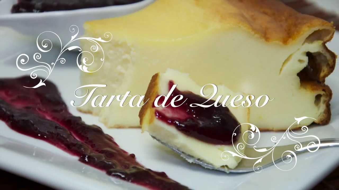 Tarta de Queso o Cheesecake | Las Mejores Recetas de Postres por Chef de mi Casa.com